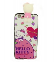 Grosir Pink Silicone Case Hello Kitty Character Vivo Y53 Murah
