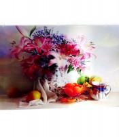 Grosir Poster Dinding 3D Bunga