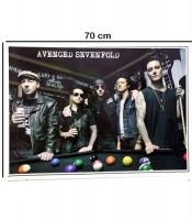 Grosir Poster Dinding Anggota Avenged Sevenfold