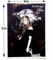 Grosir Poster Dinding Avril Lavigne At Alice In Wonderland