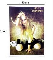 Grosir Poster Dinding Avril Ramona Lavigne