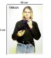 Grosir Poster Dinding Kurt Cobain