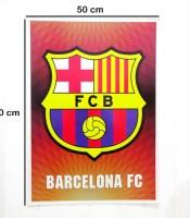 Grosir Poster Dinding Logo Barcelona FC