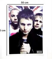 Grosir Poster Dinding Muse Band