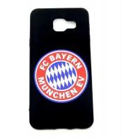 Grosir Samsung A3 Bayern Munchen Silicon Black Matte Murah