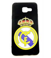 Grosir Samsung A3 Real Madrid Silicon Black Matte Murah