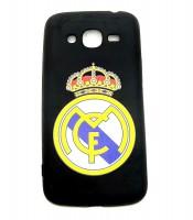 Grosir Samsung J2 Prime Real Madrid Silicon Black Matte Murah