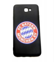 Grosir Samsung J7 Prime Bayern Munchen Silicon Black Matte Murah