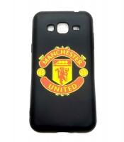 Grosir Silicon Black Matte Manchester United Samsung J3 Murah