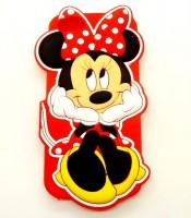 Grosir Silicon Case iPhone 6 3D Mini Mouse Murah