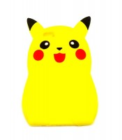Grosir Silicone Case Pokemon Pikachu 3D iPhone 6S Plus Murah