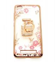 Grosir Soft Case Shining Flower Ring Redmi 4a Botol Parfum Murah