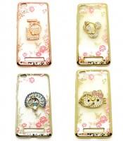 Grosir Soft Case Shining Flower Ring Redmi 4a Murah