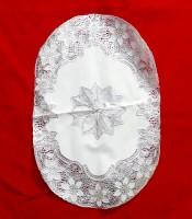 Grosir Souvenir Nikah Taplak Meja Vynil Putih