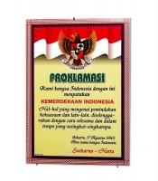 Grosir Poster Dinding Teks Proklamasi