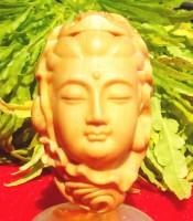 Kegunaan Azimat Pelindung Ukir Kepala Dewi Kwan Im