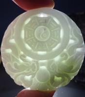 Kegunaan Giok Putih Simbol Yin Yang