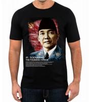 Grosir Kaos Bung Karno The Founding Father