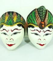 Kegunaan Sepasang Topeng Lambang Keharmonisan Asmara
