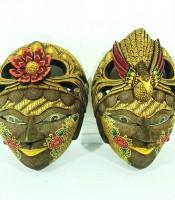 Manfaat Topeng Rama Dan Shinta Simbol Cinta Sejati